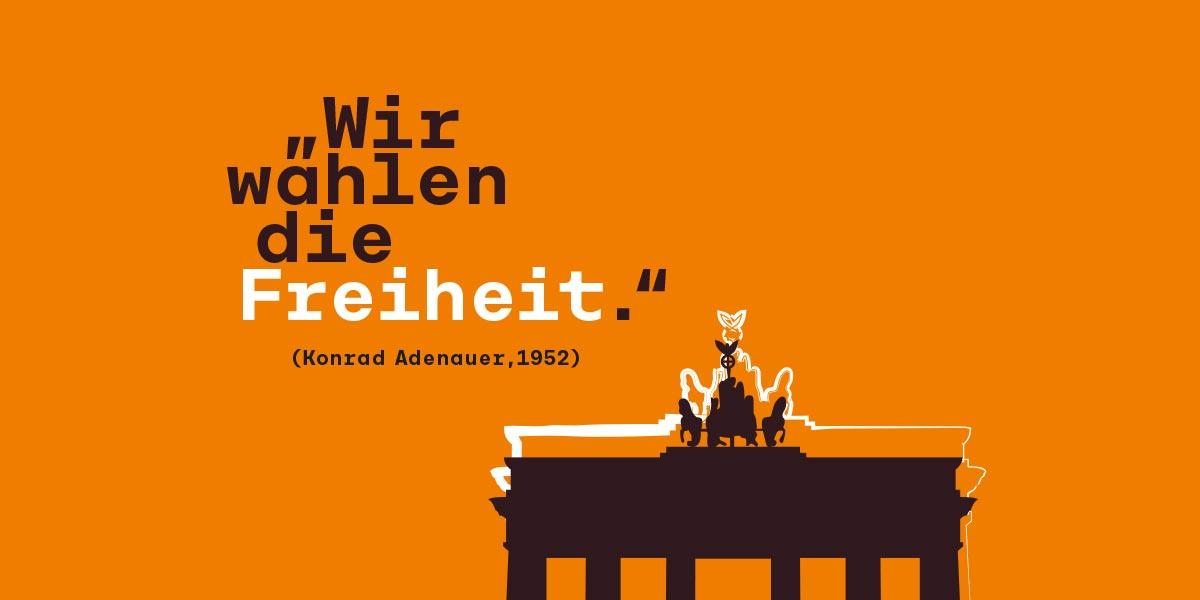 Kartendesign Stiftung Konrad Adenauer Haus