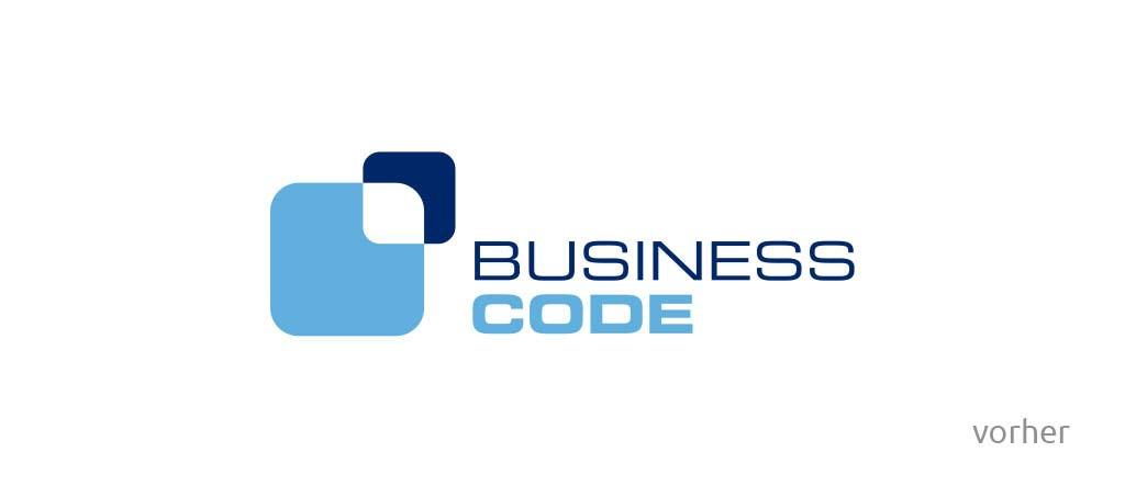 businesscode relaunch logo vorher
