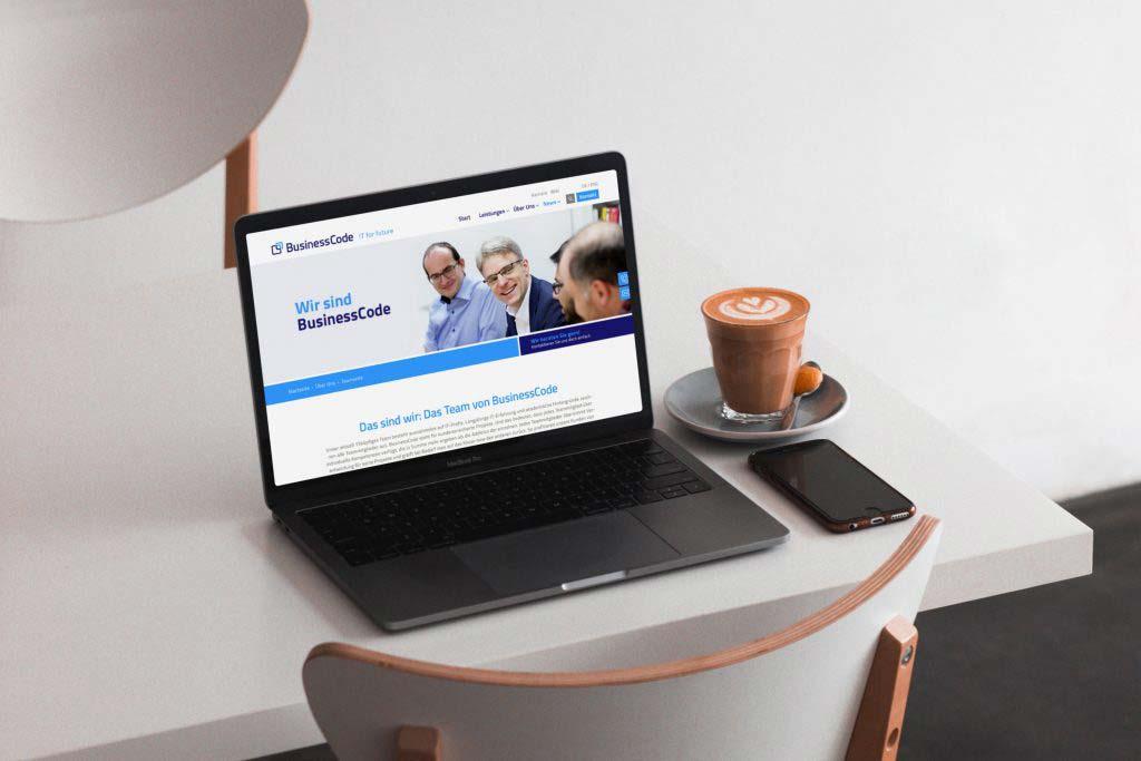 businesscode relaunch webdesign
