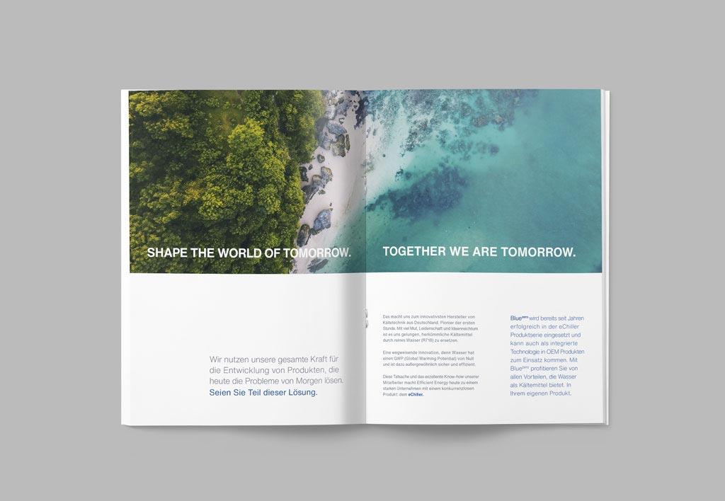 Brand Broschüre Innenseite Efficient Energy