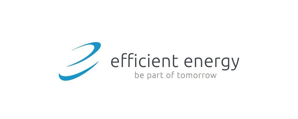 efficientenergy markenentwicklung logo alt