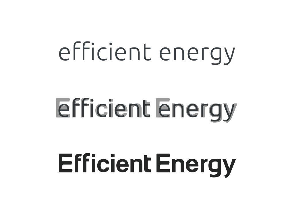 efficientenergy markenentwicklung logoentwicklung