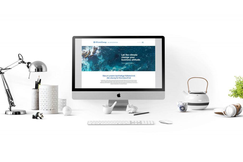 efficientenergy markenentwicklung webdesign