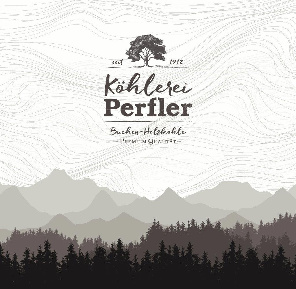 Köhlerei Branding Visual