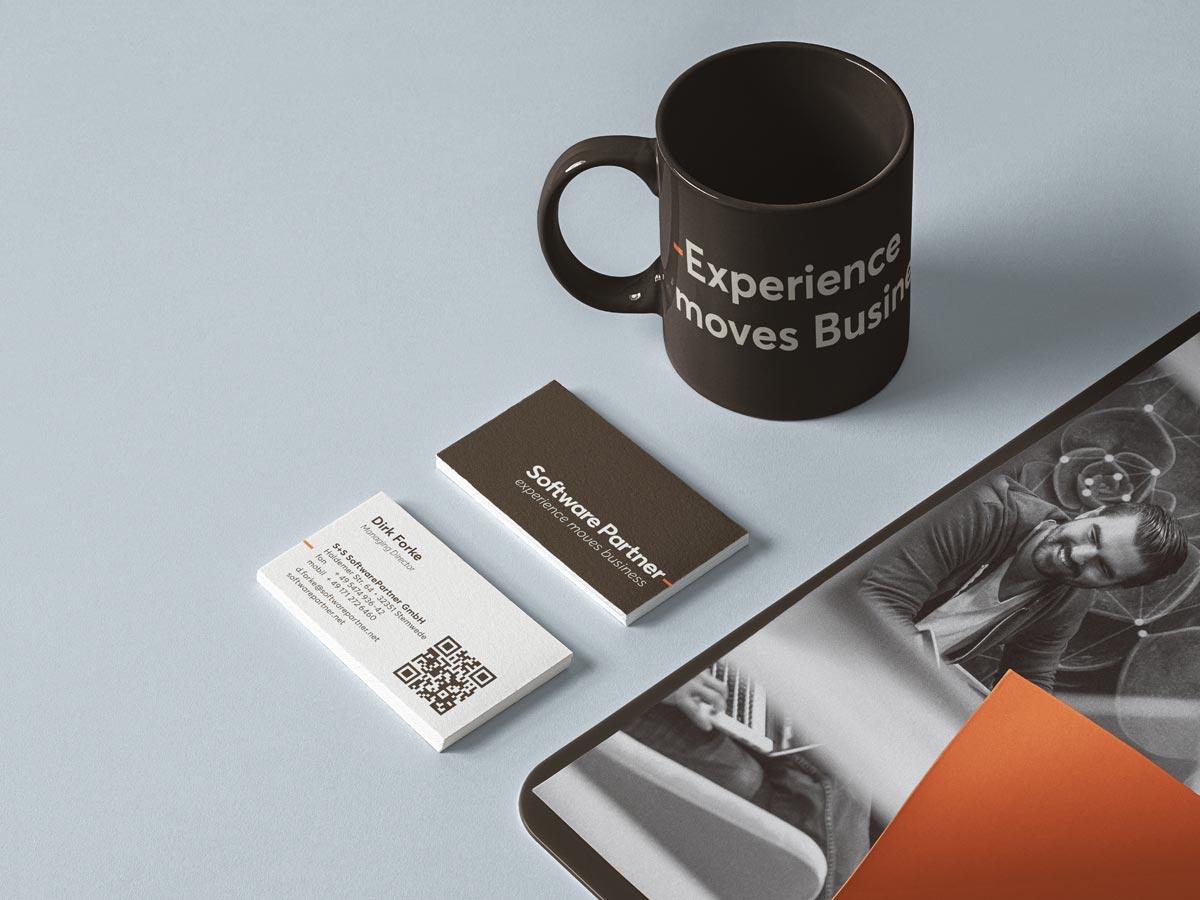 softwarepartner marke relaunch branding