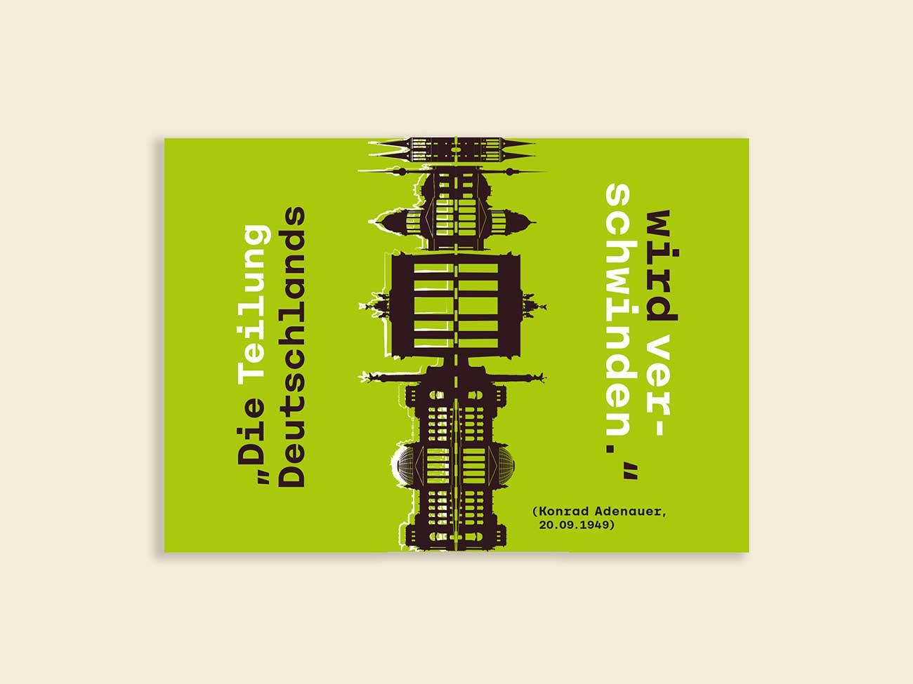 Kartendesign für Konrad Adenauer Stiftung