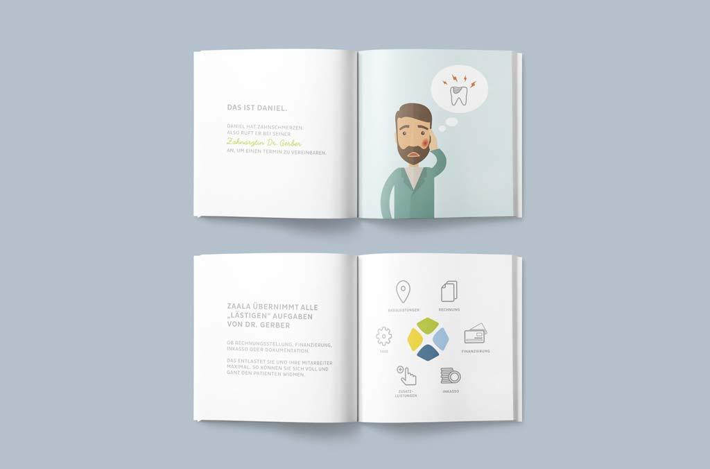 zaala markenentwicklung  broschüre