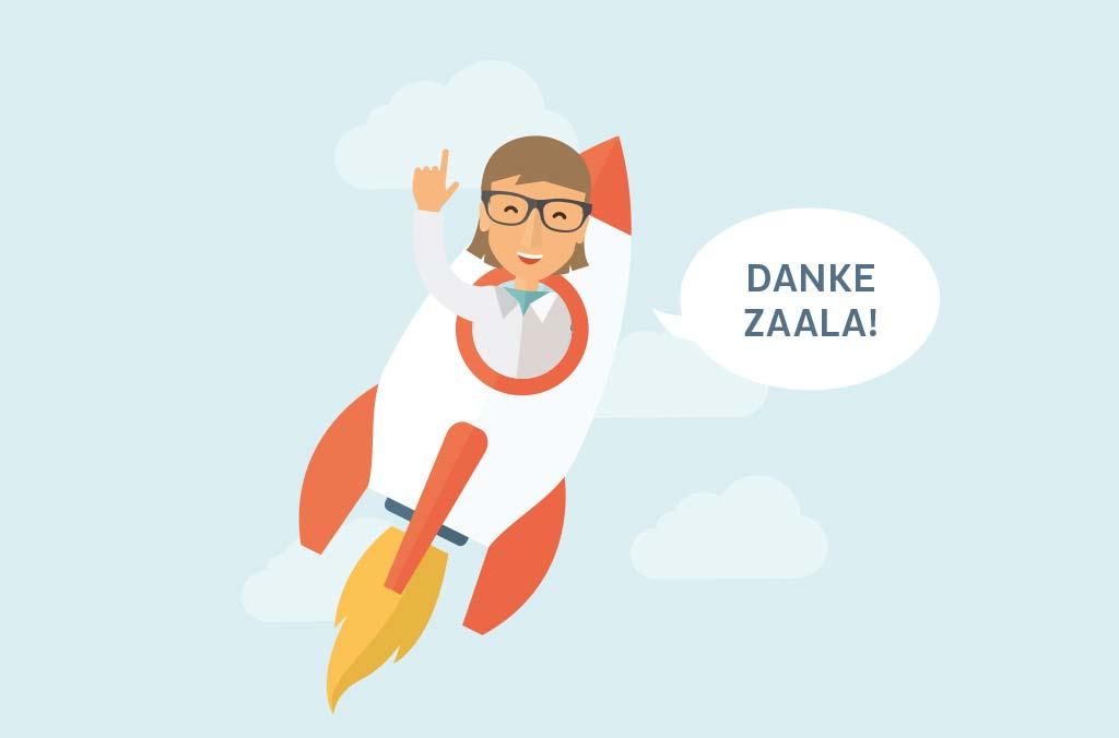zaala markenentwicklung illustration