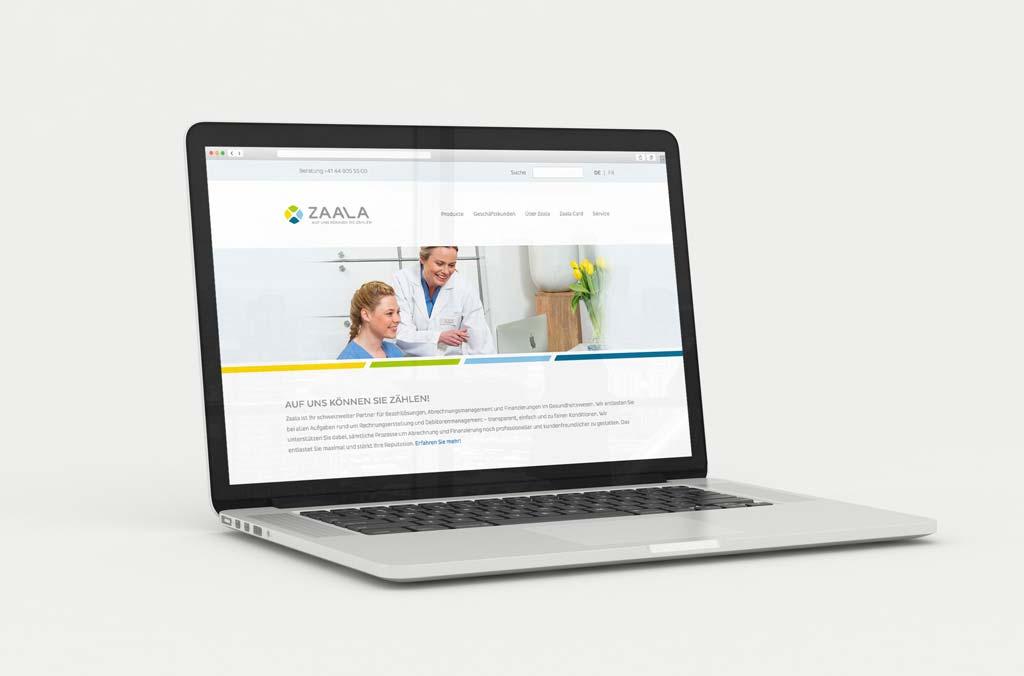 zaala markenentwicklung webdesign